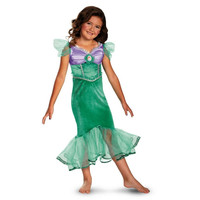 Ariel Sparkle Disney The Little Mermaid Classic Child Costume