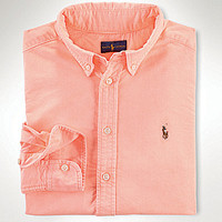 Ralph Lauren Childrenswear 8-20 Blake Oxford Shirt - Newport Navy