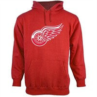 Old Time Hockey Detroit Red Wings Big Logo Hoodie