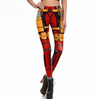 Incognito Deadpool Leggings