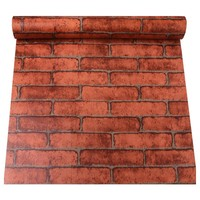 3D Three-Dimensional Imitation Brick Pattern Waterproof Wall Stickers Self-adhesive Stickers Wallpaper 45 * 100 cm