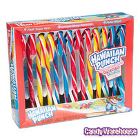 Hawaiian Punch Candy Canes: 12-Piece Box