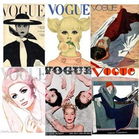 Vogue vintage covers
