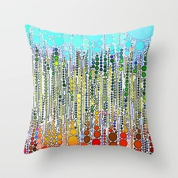 :: Sing :: Throw Pillow by :: GaleStorm Artworks ::