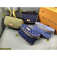 LV hot selling ladies' make-up bag fashionable printed shopping shoulder bag