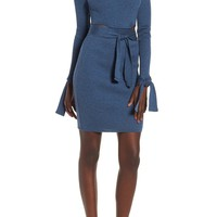 LOST INK Cutout Body-Con Dress   Nordstrom