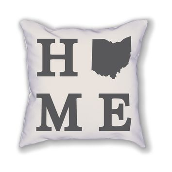 Ohio Home State Pillow