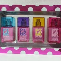 Victoria's Secret Pink Fresh & Clean, Sweet & Flirty, Fun & Fearless, Wild & Breezy Body Mist Gift Set