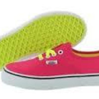 Vans K Authentic(Pop Laces)Neon Pink