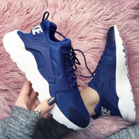 Nike Wmns Air Huarache Run Ultra Sports shoes Navy blue