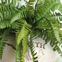 Hot New Hight Quality Fishtail Pine Fern Fake Plant Artificial Floral Leaves Party Decor Decoration