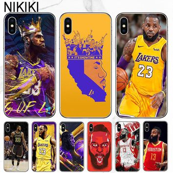 e1f77d671825 ciciber Coque Capinha LeBron James Harden Phone Case For iPhone