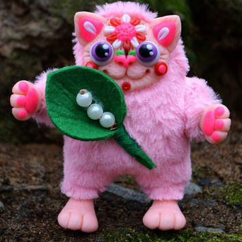 """Room decor for girls """"Pink cat"""""""