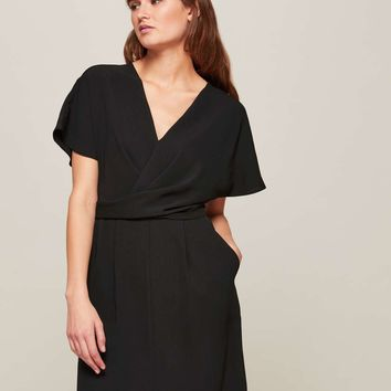 Black Kimono Sleeve Shift Dress | Missselfridge