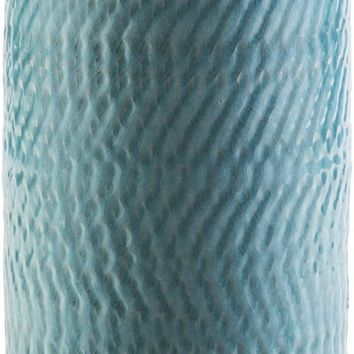 Zuniga Contemporary Table Vase Teal