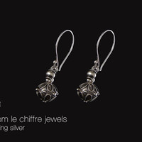 Alice silver earrings