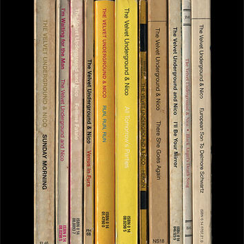 Velvet Underground Poster Print 'The Velvet Underground & Nico' Andy Warhol Banana Album As Books Penguin Books