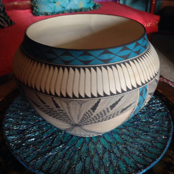 Southwestern pottery, Made by the Navajo tribe located in Northern New Mexico!