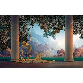 Maxfield Parrish Daybreak Art Poster 11x17