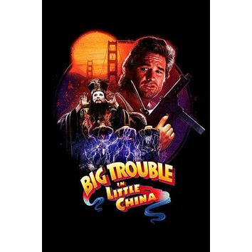 Big Trouble In Little China Movie Art Puzzle 300 pcs Large