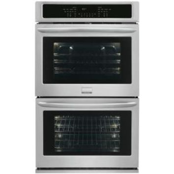 Frigidaire Gallery Gallery 30 in. Double Electric Wall Oven Self-Cleaning with Convection in Stainless Steel FGET3065PF at The Home Depot - Mobile