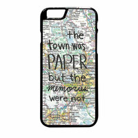 John Green Paper Towns Quote iPhone 6 Plus Case