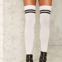 Game is Up Thigh-High Socks