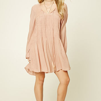 Boho Me Smocked Peasant Dress
