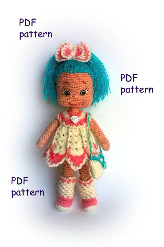 Pattern Natasha Pdf Amigurumi Crochet From Knittedtoysnatalia On