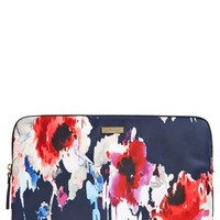 kate spade new york 'hazy floral' laptop sleeve (13 inch) | Nordstrom