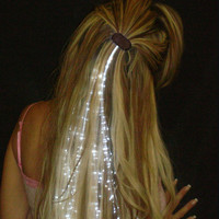 Glowbys White Hair Accessory