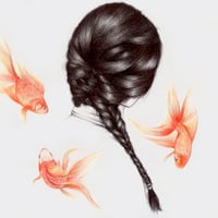 Hair Sequel  Art Print by The White Deer | Society6