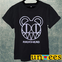 Radiohead Band Logo Men T Shirt