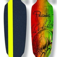 Palisades Peniche Drop Thru Skate Board Complete (Assorted, 38.5 X 10.25-Inch)