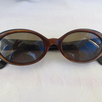 Vintage Fendi Occhiali, Women's Sunglasses, Italy Blonde / Black, FS 190, 135 Authentic Designer Sunglasses