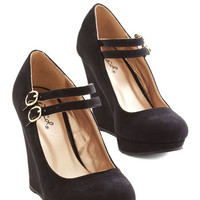 ModCloth Strive for the Best Wedge