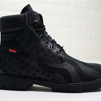 Supreme x Timberland 6-Inch Waterproof Boot USA ¡±A1PHN
