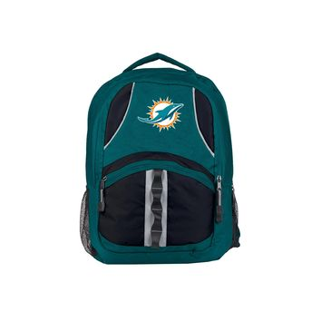 Miami Dolphins Backpack Captain Style Aqua and Black