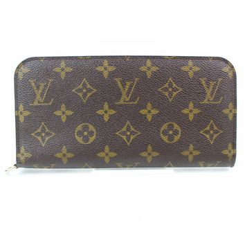 Authentic Louis Vuitton Long Wallet Insolite Browns Monogram 248143