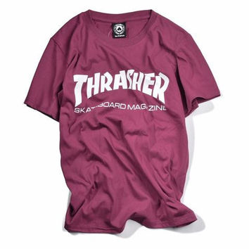 Thrasher Maroon/Red T Shirt
