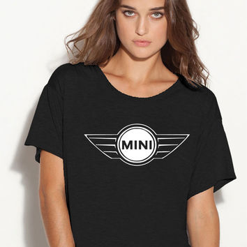 Mini Cooper  boxy ladies tshirt