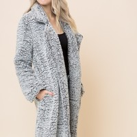 The Bentley Sherpa Long Coat