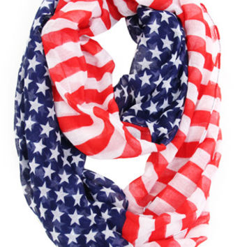All American Girl Infinity Scarf