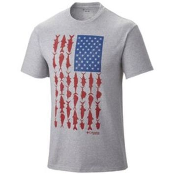 Academy - Columbia Sportswear Men's PFG Flag O' Fish™ T-shirt