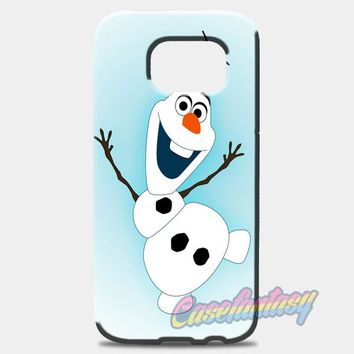 Olaf From Frozen Samsung Galaxy S7 Edge Case