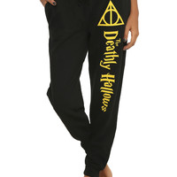 Harry Potter Deathly Hallows Girls Pajama Pants