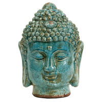 "One Kings Lane - The Perfect Coffee Table - 12"" Meditative Buddha"