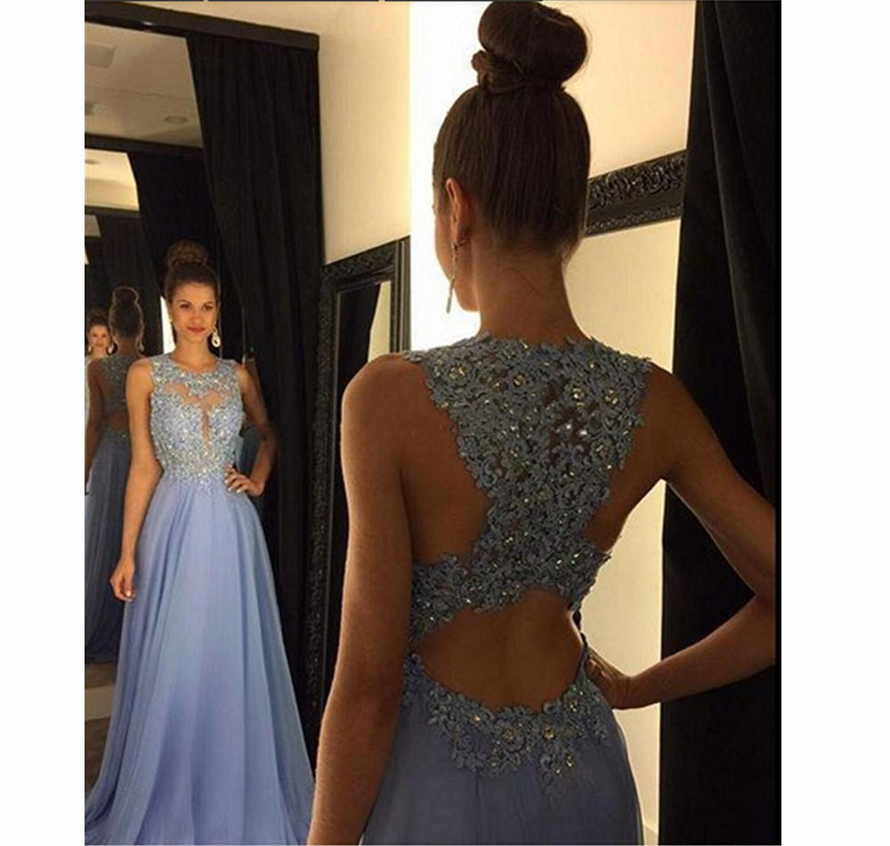 a674e1edf6ec Elegant Lace Prom Dresses with Beadings from Yepfashion
