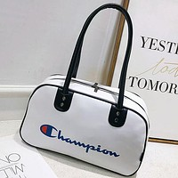 Champion Fashion Women Men  Shoulder Handbag Travel Bag