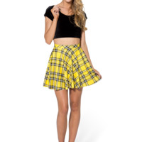 Tartan Yellow Skater Skirt
